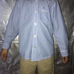 Tommy Hilfiger Shirts & Tops - Kids Tommy Hilfiger Bottom Down Shirt